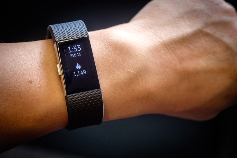 Fitbit Charge 2. Picture from Review.com